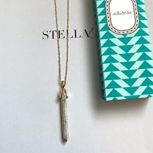 Stella & Dot Stone Rebel Pendant
